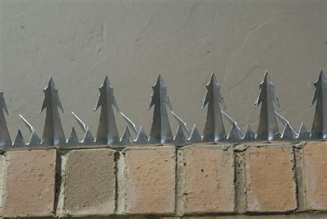 razor wire security wall spikes manufactured and sold by