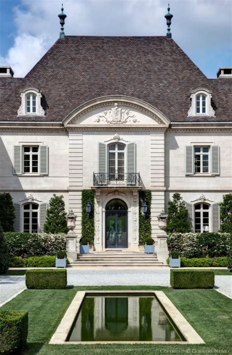 home design dallas front facade of the crespi hicks estate home designed by