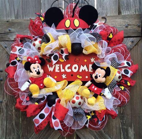 diy corona navide a de mickey mouse mickey s christmas wreath las 25 mejores ideas sobre corona de mickey mouse en