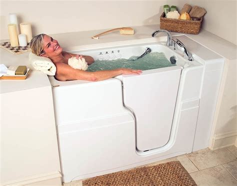 walk in tub get 174 hydrotherapy quality safety