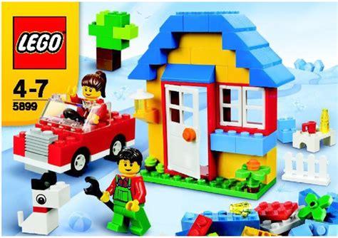 LEGO LEGO House Building Set Instructions 5899, Bricks and