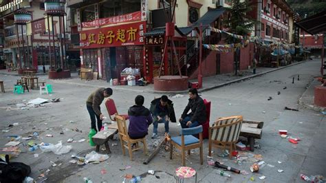earthquake in china china reports no major collapses following powerful quake