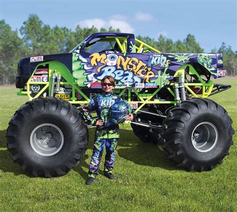 kids monster truck 125 000 monster truck for kids is the ultimate spoil