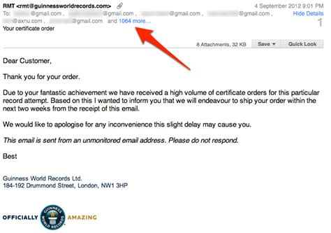 send secret email guinness world records just leaked the emails of 1070