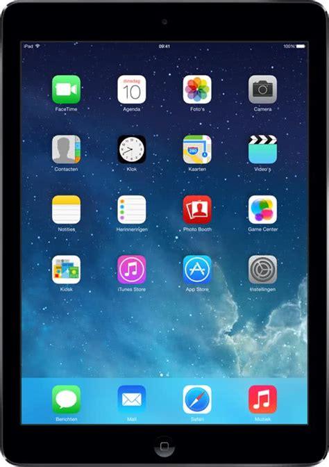 Foto Dan Tablet Apple bol apple air 16gb wifi spacegrijs grijs