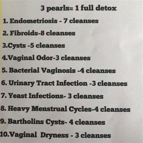 Yoni Detox by I This Page Get Your Yoni Cleanse Pearls At