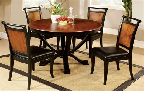 pedestal dining room set salida i acacia round pedestal dining room set from