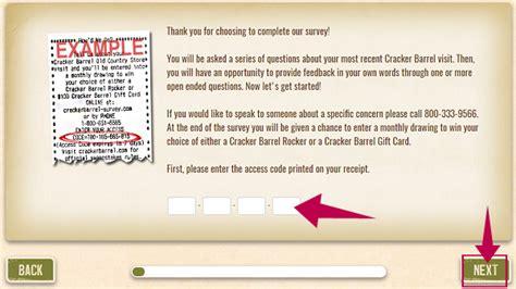 Cracker Barrel Survey Sweepstakes - cracker barrel survey at www crackerbarrel survey com happy customers review
