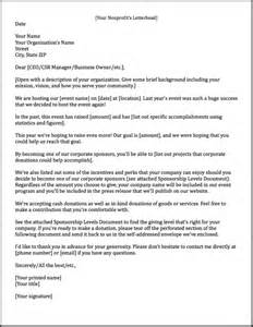 cover letter sponsorship sponsorship letters learn how to raise more money with