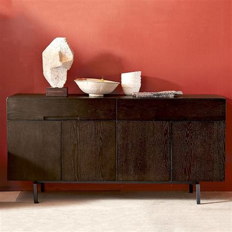 floating storage console modern buffets and sideboards