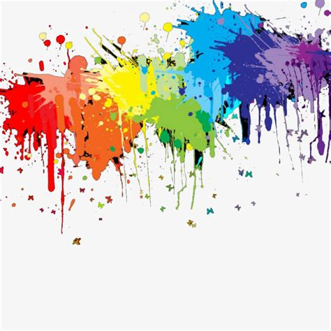 color splash photoshop simple color splash pigment simple color splashing png