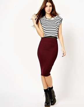 new look textured midi pencil skirt yes my