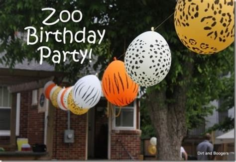 zoo themed birthday party games 43 creative zoo animal birthday party themes tip junkie
