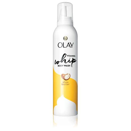 Olay Foam olay shea butter foaming whip wash