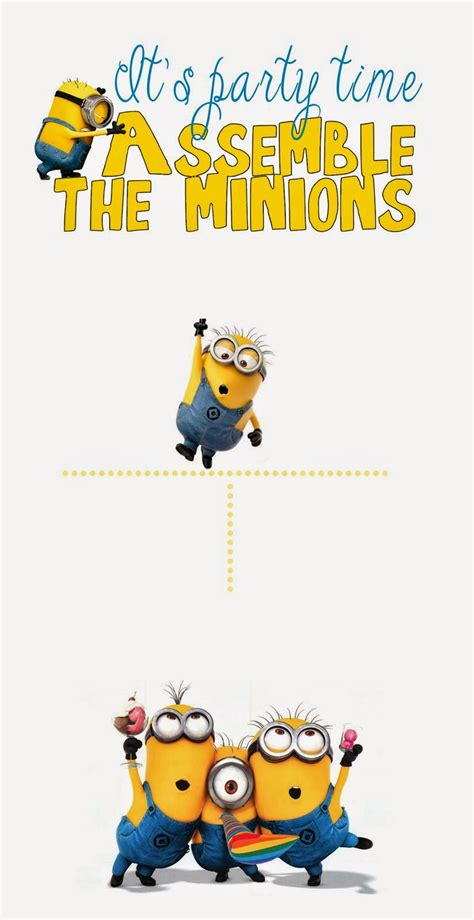printable minion birthday decorations nice minions free printable invitations is it for