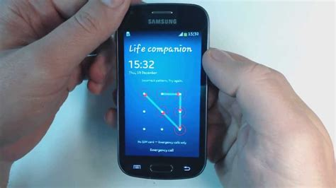 Samsung Galaxy Trend Plus S7580 samsung galaxy trend plus s7580 how to remove pattern