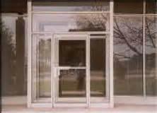 Commercial Storefront Glass Door Repair Crash Bar