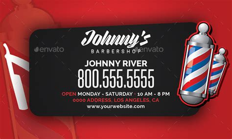 barber business card template psd barbershop business card template by flyerpunkz graphicriver