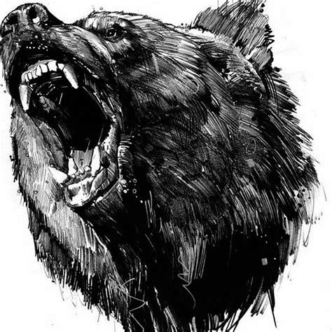 медведь тату эскизы фото галерея идеи татуировок