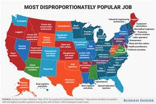 us map charts disproportionately popular in every state map