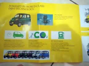 brosur bajaj qute mobil  murah  indonesia