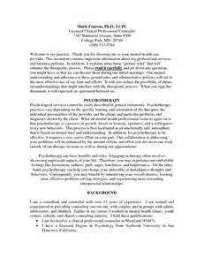 best photos of counseling informed consent form template