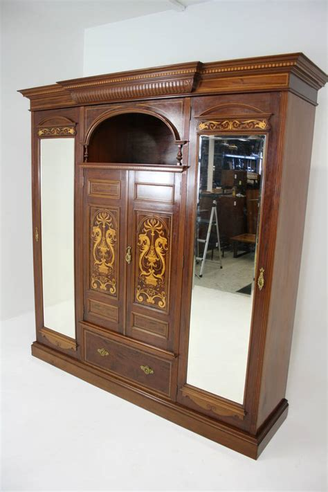 what is armoire in english antique english neoclassical inlaid mahogany armoire or