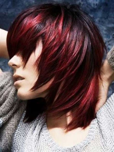 What Edgy Colors Mix Well In Hair | 20 short hair color trends 2015 the best short