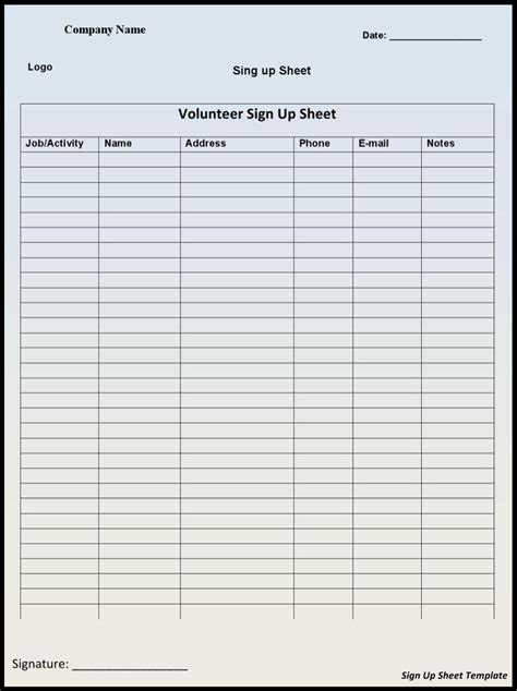 tournament sign up sheet commonpence co