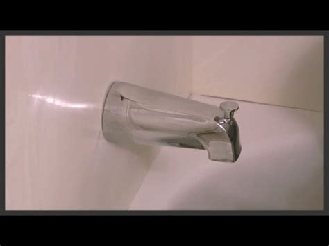 how to fix bathtub diverter universal tub diverter spout installation youtube