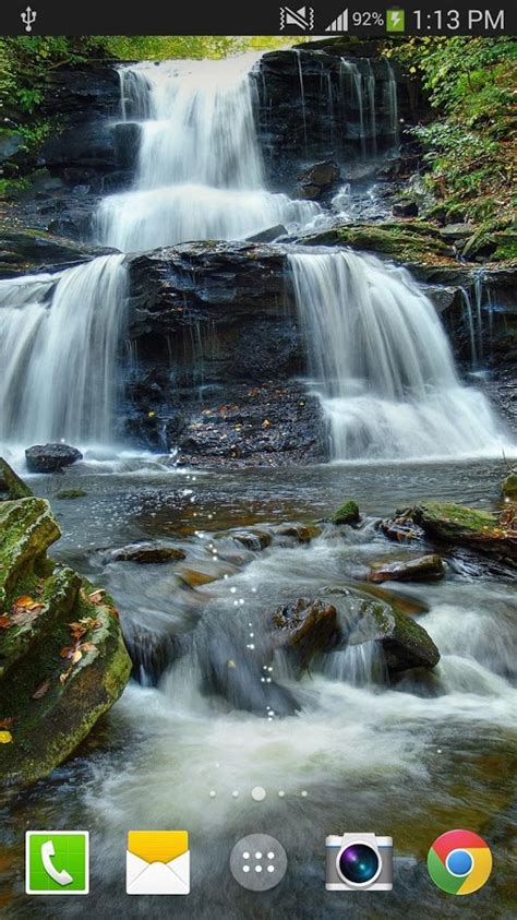 waterfall  wallpaper pro android apps  google play