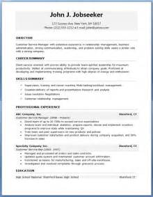 Professional Resume Format by Free Professional Resume Templates Resume Downloads