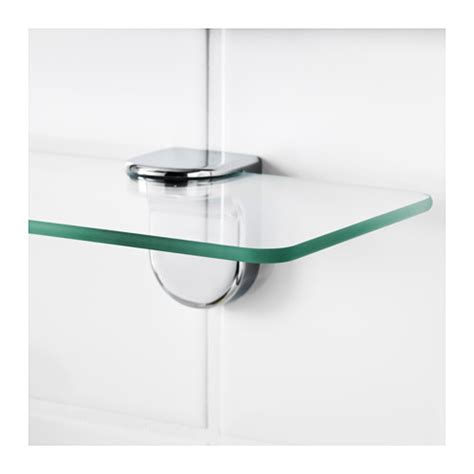 Kalkgrund Glass Shelf 62x11 Cm Ikea Glass Bathroom Shelves Ikea