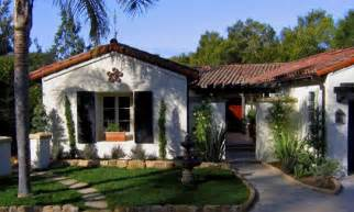Santa Barbara Style Homes Santa Barbara Spanish Style Small Homes Santa Barbara