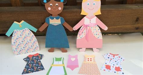 Make Your Own Paper Dolls - artsy albums mini album and page layout kits and custom
