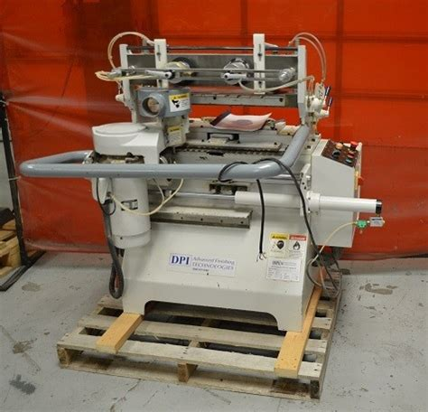 pre owned woodworking machinery sold dpi automated dovetailer model da 19