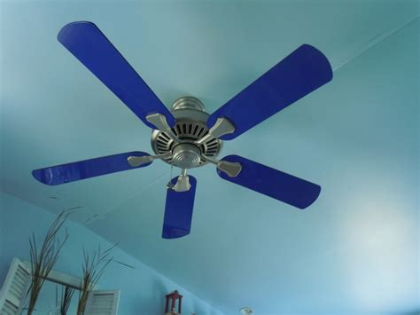 hton bay cobalt blue ceiling fan light blue ceiling fan gradschoolfairs com