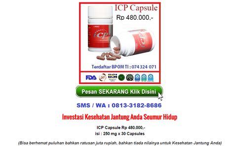 Icp Capsule 2 icp capsule obat herbal alami jantung koroner dan stroke distributor obat jantung koroner