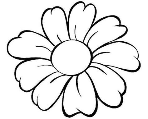immagini fiore da colorare il disegno di un grande fiore con bellissimi petali da