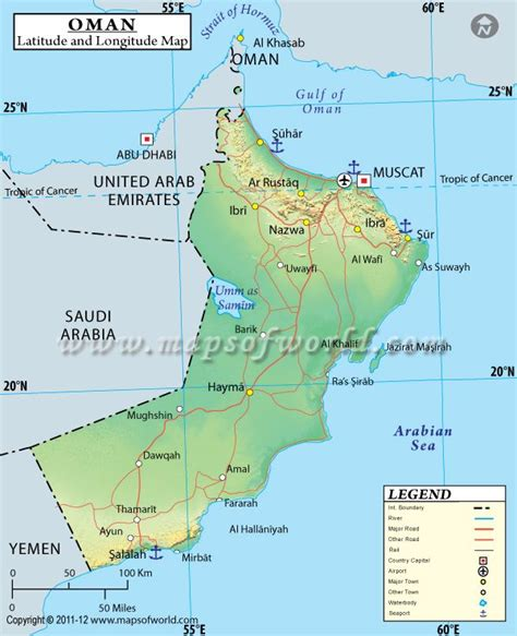 middle east map with latitude and longitude oman latitude and longitude map maps and