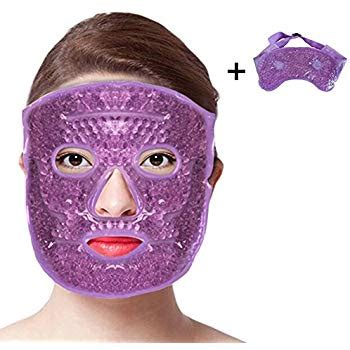 icy hot under eyes face eye mask gel cold pack reduce puffiness