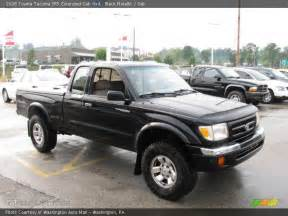 1998 Toyota Tacoma 4x4 1998 Toyota Tacoma Sr5 Extended Cab 4x4 In Black Metallic