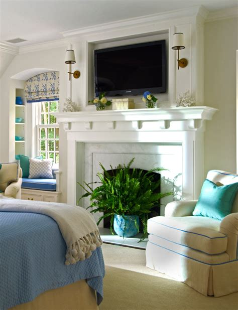 Hanging Tv Above Gas Fireplace by Hanging Your Tv The Fireplace Yea Or Nay Driven