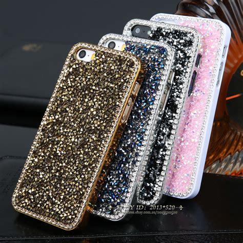 Bling Casse sparkle bling glitter rugged back cover for iphone 5s 6 6 plus ebay