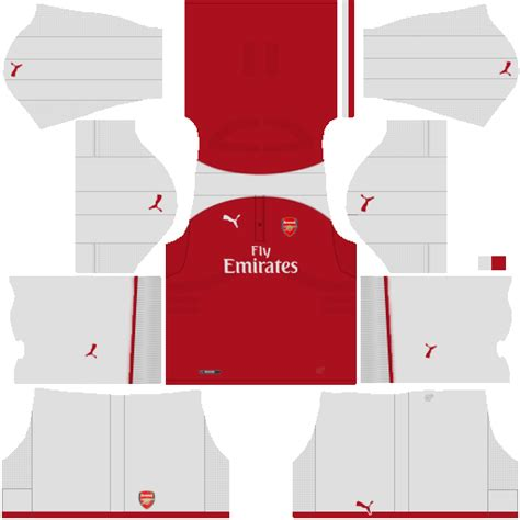 arsenal kit dream league 2017 arsenal kits 2017 2018 dream league soccer arsenal dls