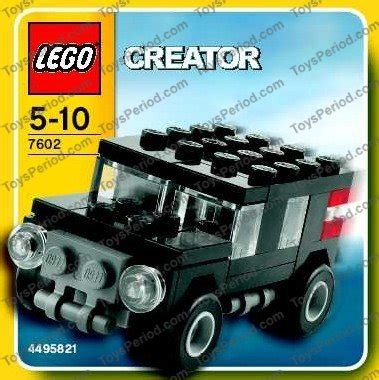 lego jeep set lego 7602 jeep set parts inventory and lego