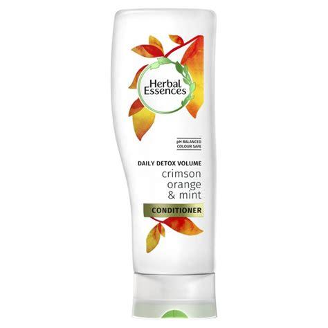 Detox Shoo Superdrug by Herbal Essences Detox Crimson Orange Mint Conditioner