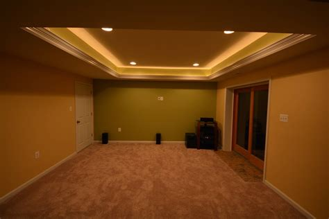 Basement Hidden Led Lights Ideas Basement Masters Basement Ceiling Lighting