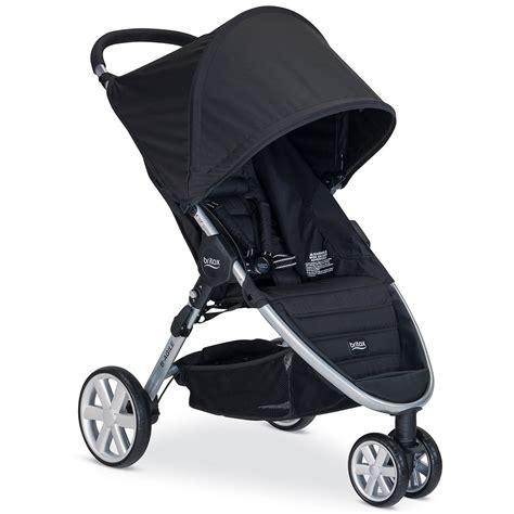 britax b agile 3 stroller in black