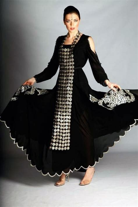 Fashion Modern modern arabic dresses black inofashionstyle